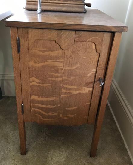 Record Cabinet for Edison Standard Phonograph