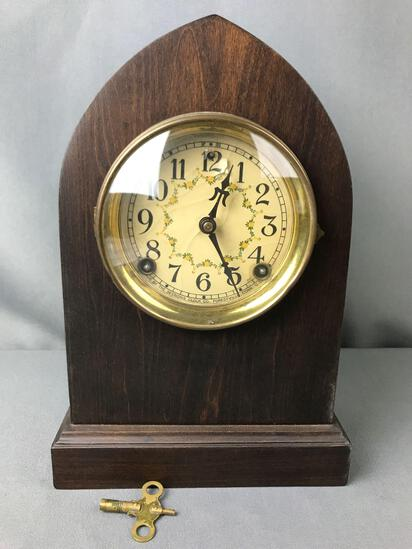 Antique Sessions Clock Co Mantle Clock