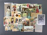 Collection of Antique Advertising Ephemera and more