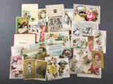 Group of Antique Advertising Cards