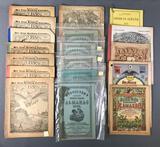 Collection of Antique Almanacs :