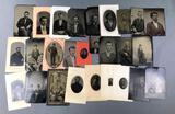 Collection of Antique Studio Portraits