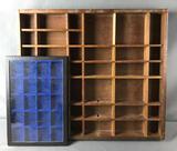Vintage Display Shelf and Box