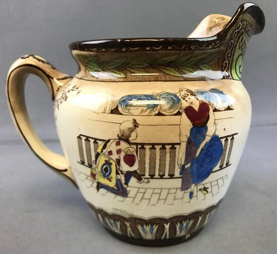 Antique Buffalo Pottery Cinderella Pitcher