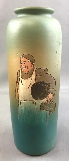 Vintage Weller Pottery Dickens Ware Vase