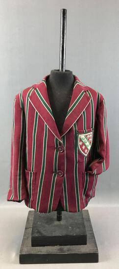 "Vintage ""Rawcliffes"" School Uniform Jacket and Clothing Form"