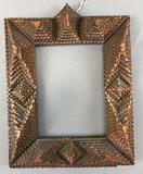 Antique Tramp Art : Picture Frame