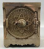 Antique (1897) Embossed Cast Iron