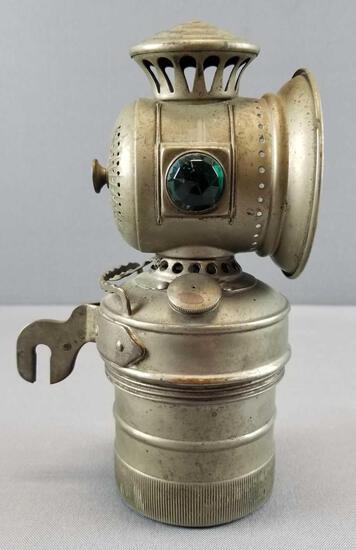"""Antique Bike Lantern """"Search Light"""""""