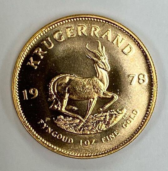 1978 1 oz Gold South Africa Krugerrand