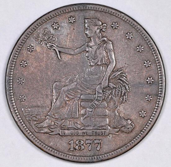 1877 S Trade Silver Dollar