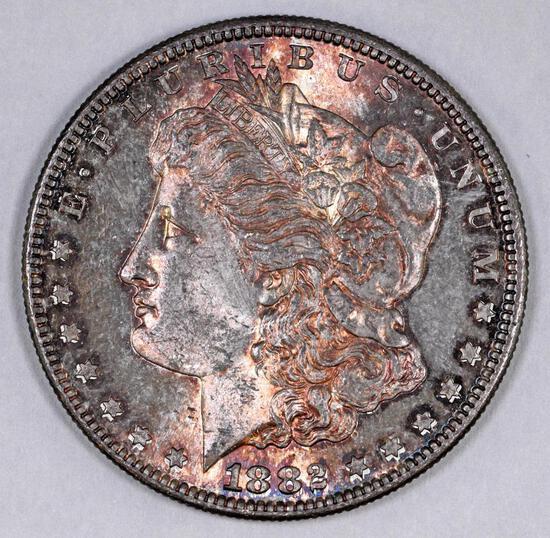1882 S Morgan Silver Dollar