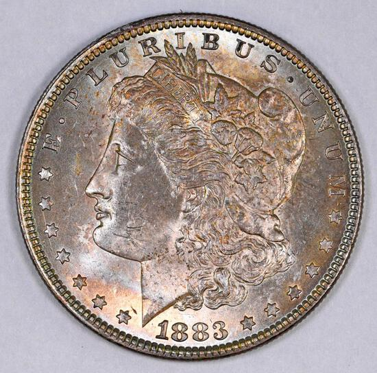 1883 P Morgan Silver Dollar