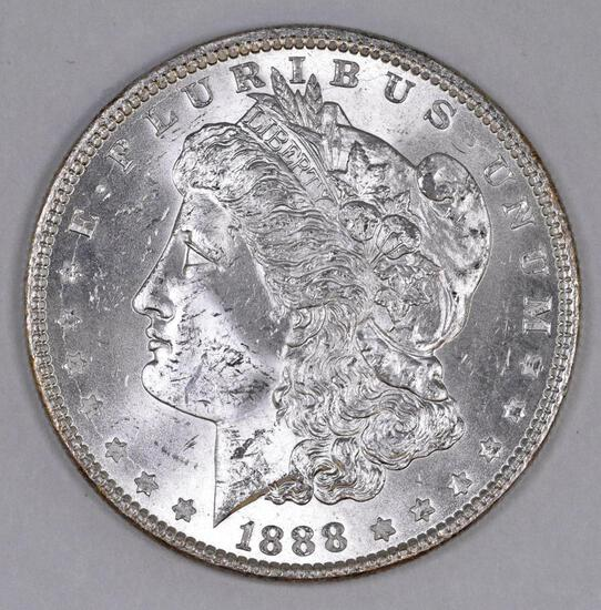 1888 P Morgan Silver Dollar