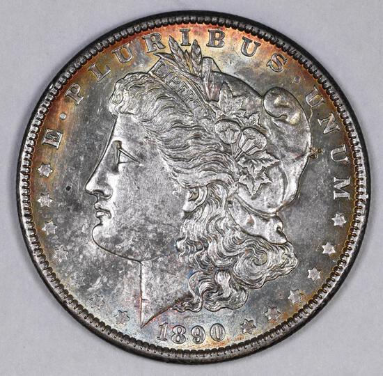 1890 P Morgan Silver Dollar