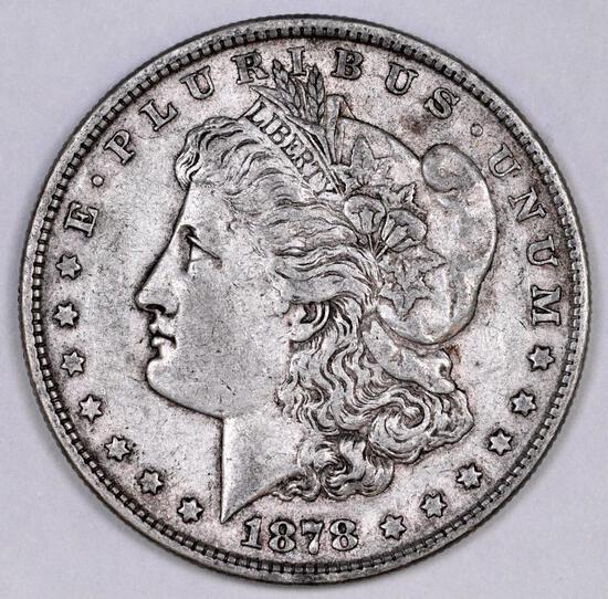 1878 P 8TF Morgan Silver Dollar