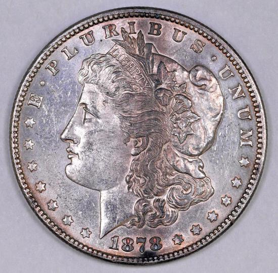1878 P 7TF Morgan Silver Dollar