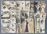 Group of antique foreign postcards