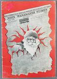 Antique John Wanamaker Stores Christmas catalog