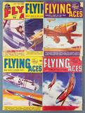 Group of 5 Flying Aces magazines