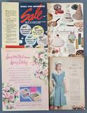 Group of 4 vintage department store catalogs