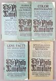 Group of 5 antique The Photo Miniature magazines