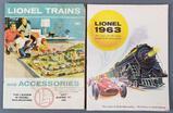 Group of 2 vintage Lionel trains catalogs