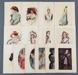 Group of antique Howard Chandler Christy prints