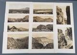 Antique US geological exploration engravings/etchings