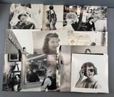 Group of vintage fashion photographs
