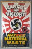 Vintage Poster Target for Victory