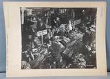 Vintage NYC Pushcart market photograph