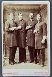 Antique photograph Shields brothers Texas giants