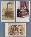 Group of 3 antique interesting photographs