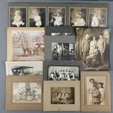 Group of vintage/antique photographs