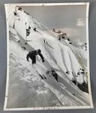 Vintage photograph of Jannette Burr, Olympic ski team 1952