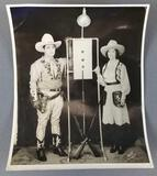Vintage sharpshooter photograph