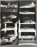 Group of 12 vintage photographs of Paxton Phoenix prototype
