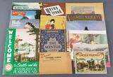 Group of vintage travel publications