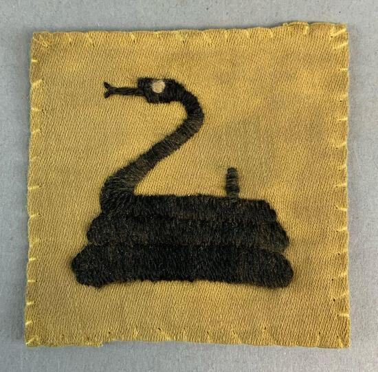 Rare WW1 Shoulder Patch for 369th Negro Infantry Regiment