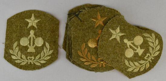 Group of 10 WW1 Army Engineering Specialty Patches
