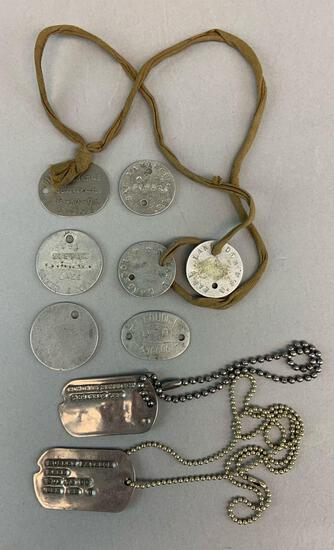 Large Dogtag Grouping