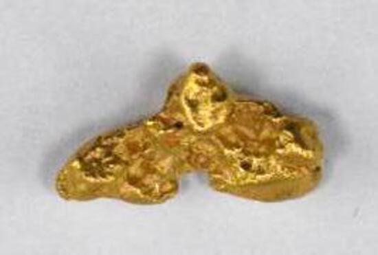 Alaska Placer Gold Nugget 6.1 grams