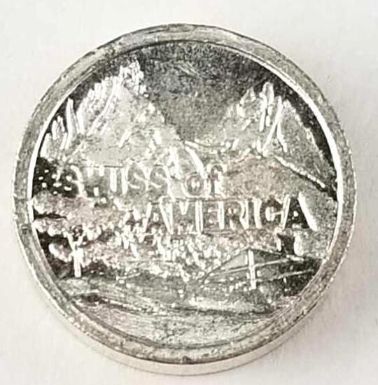 Swiss Of America - Silver Round 1 Oz. Draper Mint .999 Fine
