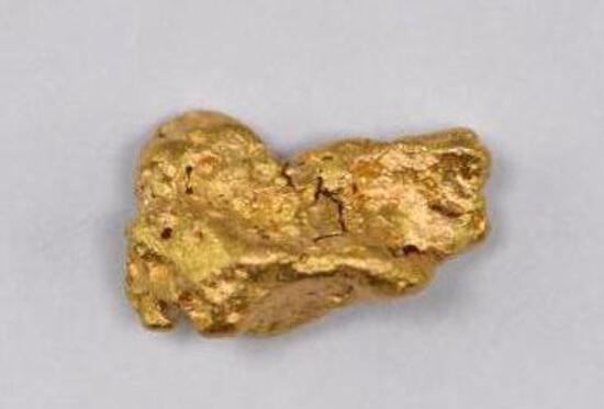 Alaska Placer Gold Nugget 5.2 Grams