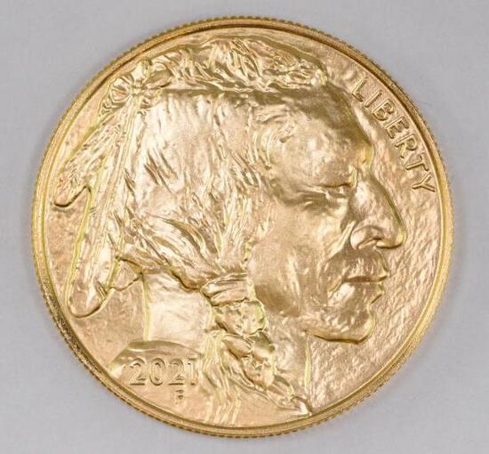 2021 $50 American Buffalo 1oz. .9999 Fine Gold