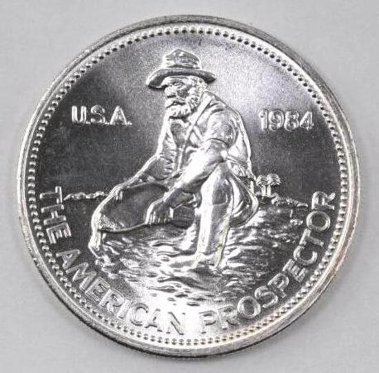 1984 Engelhard Prospector 1oz. .999 Fine Silver