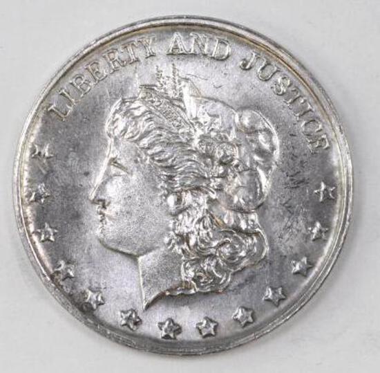 Silver Trade Unit Liberty & Justice 1oz. .999 Fine Silver Round