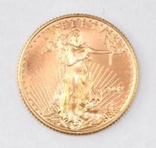 2009 $5 American Eagle 1/10thoz. .999 Fine Gold