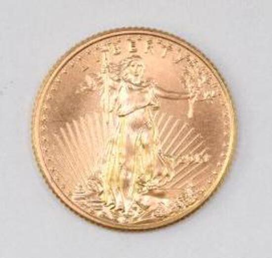 2013 $5 American Eagle 1/10thoz. .999 Fine Gold